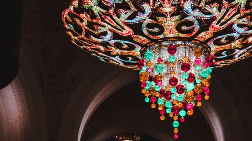 Chandellers decoration HD Wallpaper
