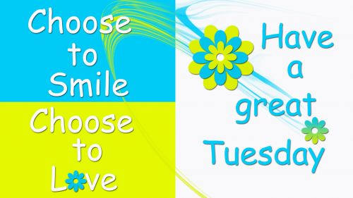 Choose to smile... HD Wallpaper
