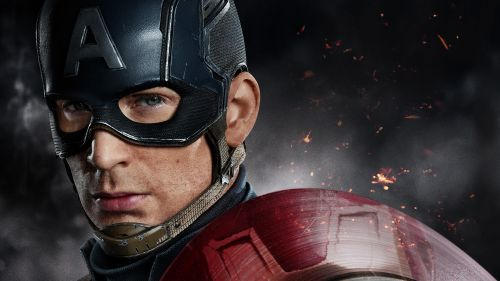 Chris Evans - Captain America Hd Wallpaper for Desktop and Mobiles