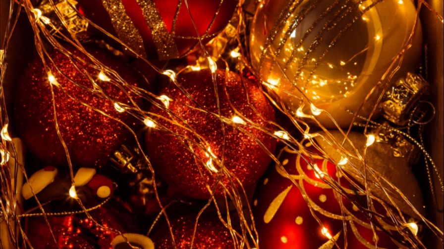Christmas beautiful decoration HD Wallpaper
