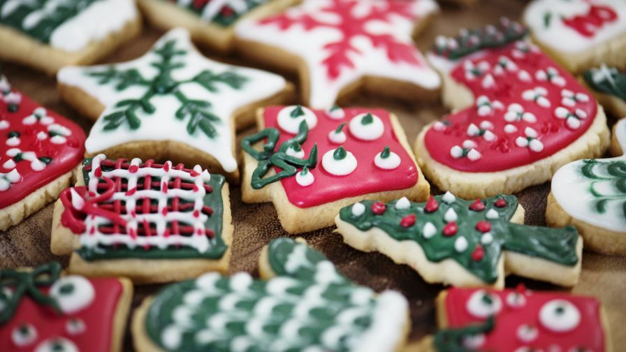Christmas Cookies Hd Wallpaper Wallpapers Net