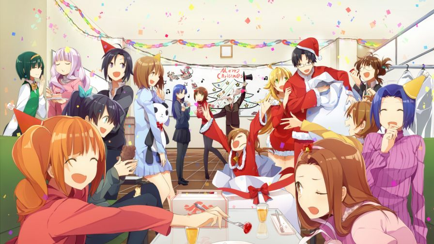 Christmas Party HD Wallpaper