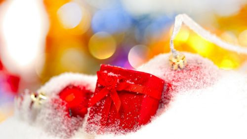 Christmas presents HD Wallpaper