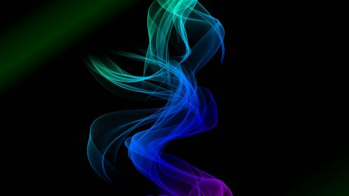 Colored entwined smoke HD Wallpaper