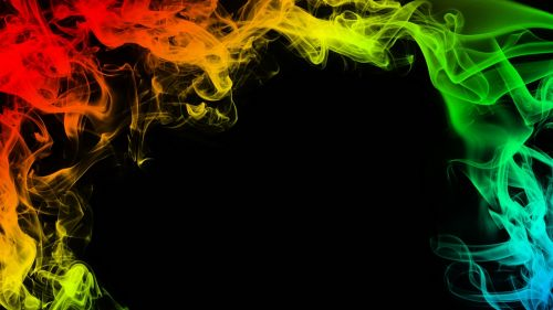 Colorful smoke HD Wallpaper