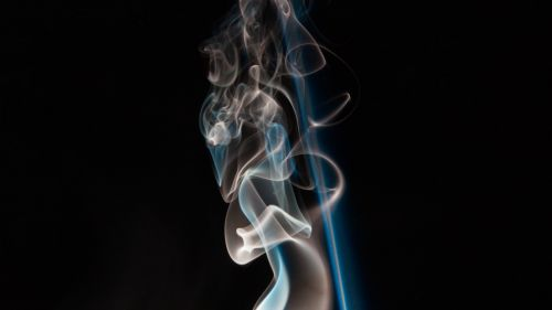 Colorful smoke plexus HD Wallpaper