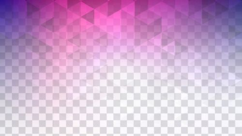 Colorful transparent polygonal HD Wallpaper