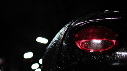 Corvete's rear headlight HD Wallpaper