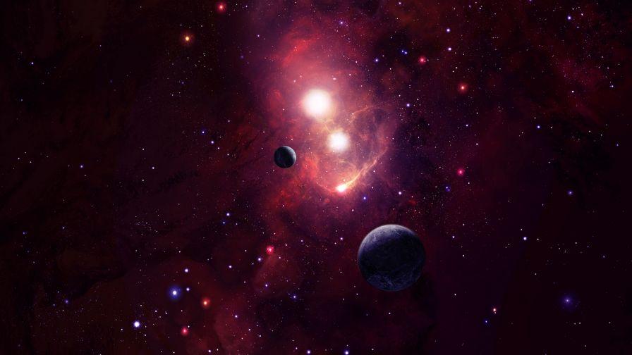 Cosmic Space Hd Wallpaper Wallpapersnet
