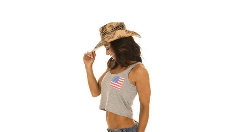 Cowgirl Salute HD Wallpaper