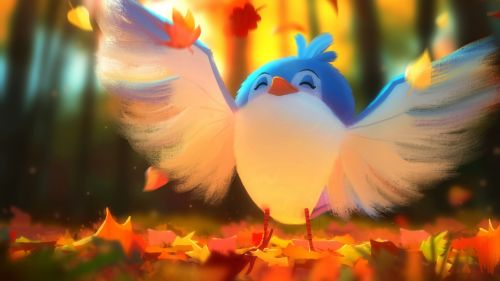 Cute bird HD Wallpaper