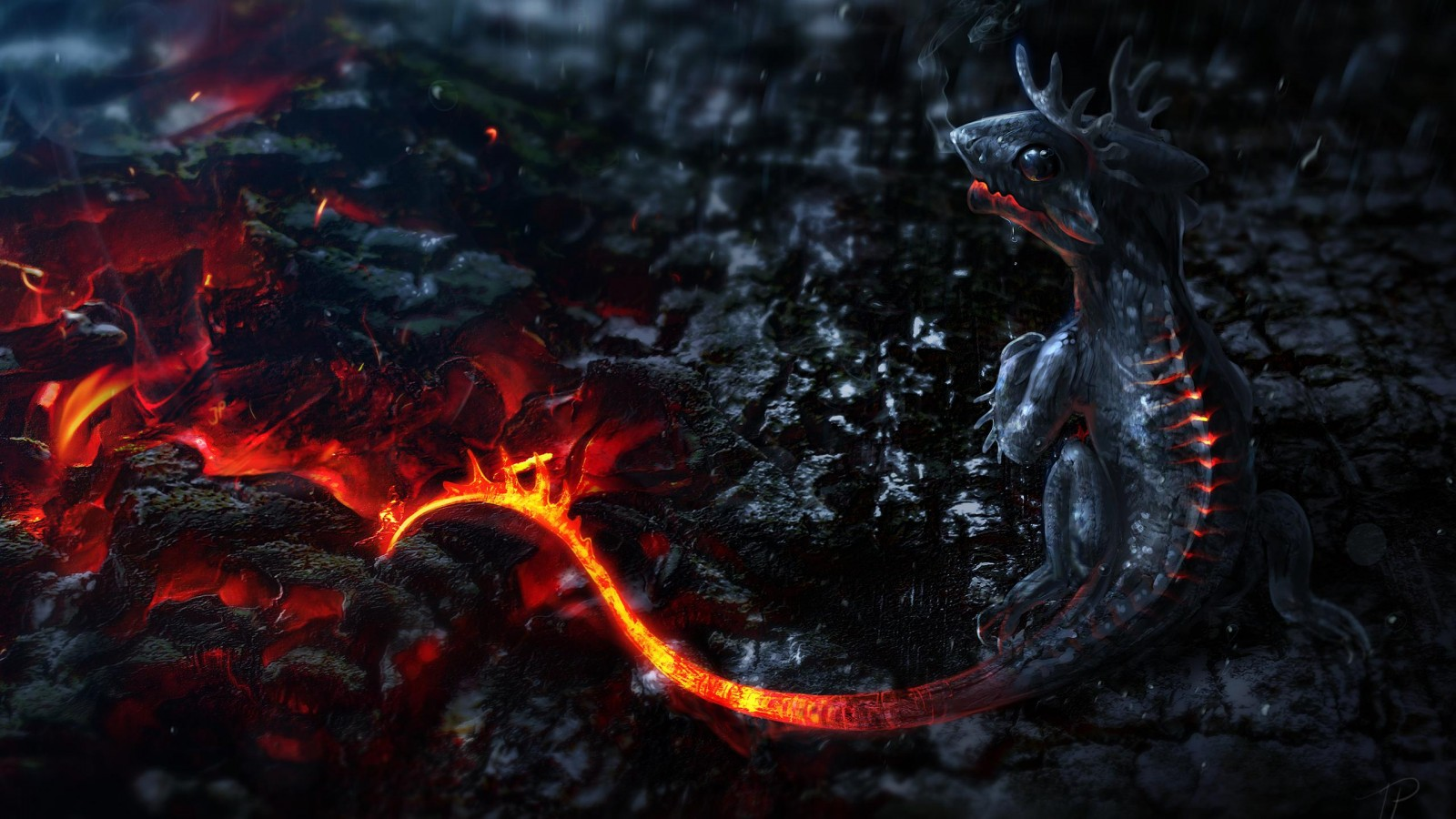 Cute dragon HD Wallpaper