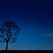 Dark blue sky HD Wallpaper