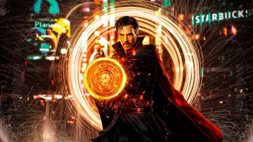 Doctor strange magic HD Wallpaper