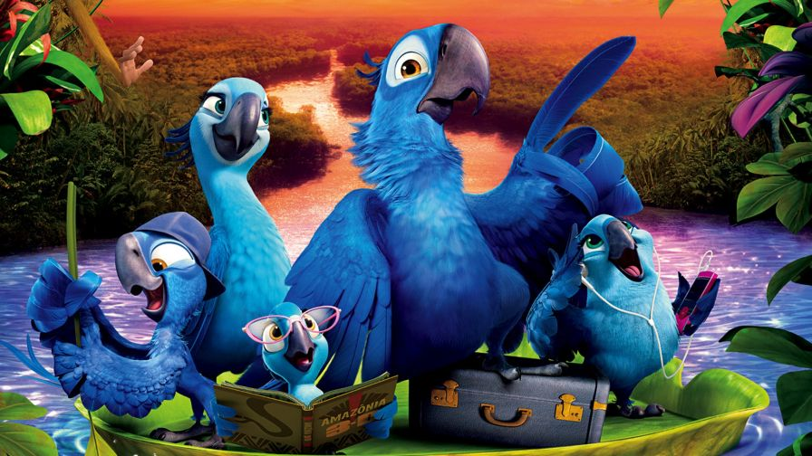 Download Angry Birds Rio Wallpaper for Desktop and Mobiles