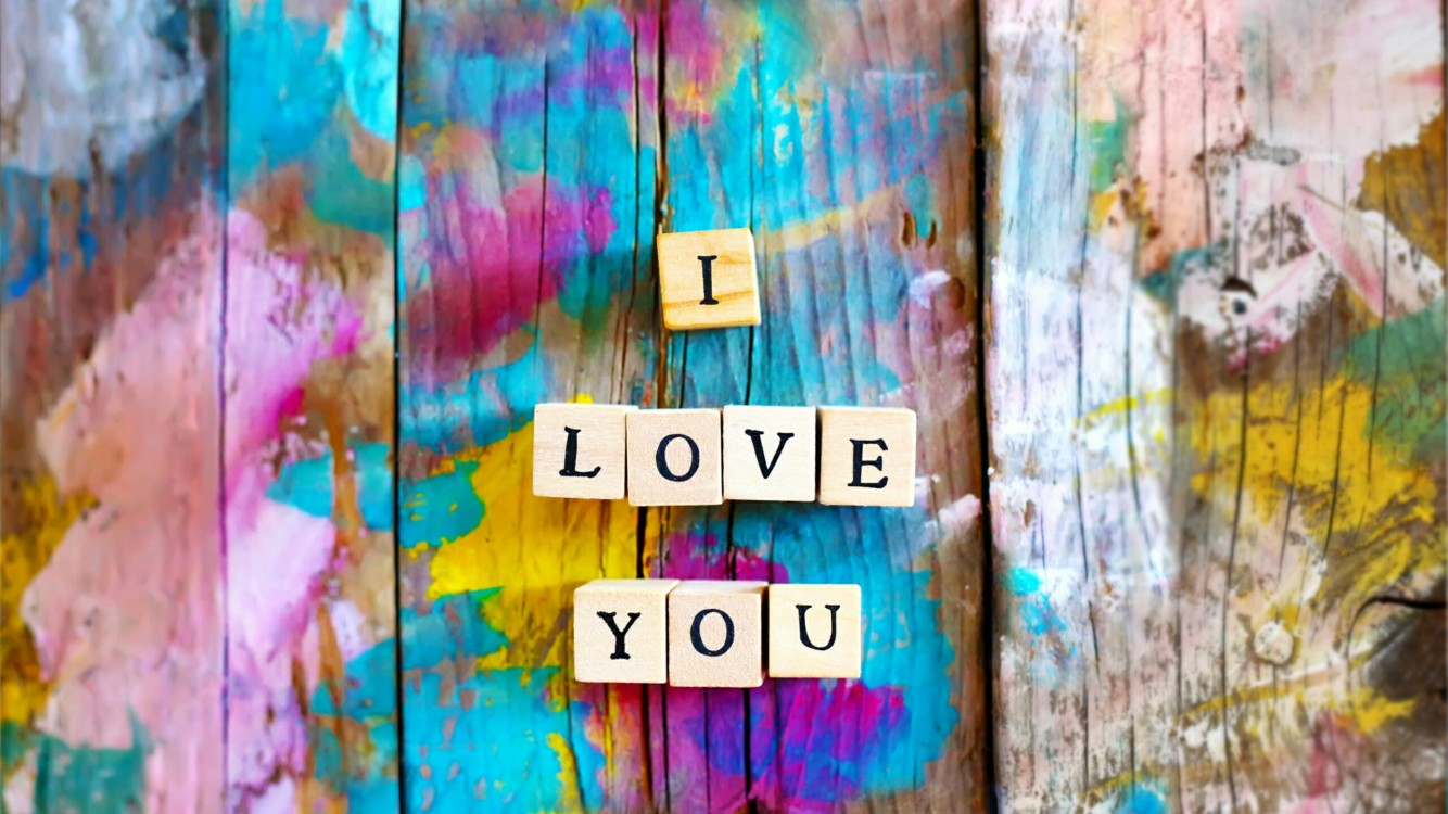 Download I Love You Scrabble Words Hd Wallpaper for Desktop and Mobiles