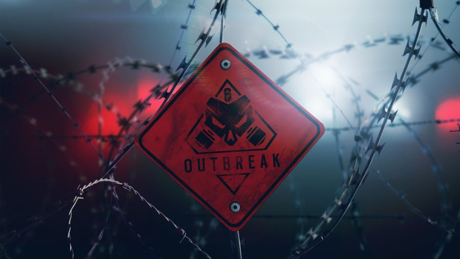 Download Rainbow Six Siege Outbreak 4K Wallpaper for Desktop and Mobiles