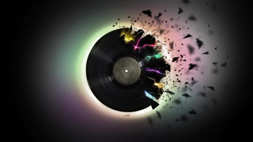 Download Vinyl Record Disk Ultra 4K Hd Wallpaper for Desktop and Mobiles