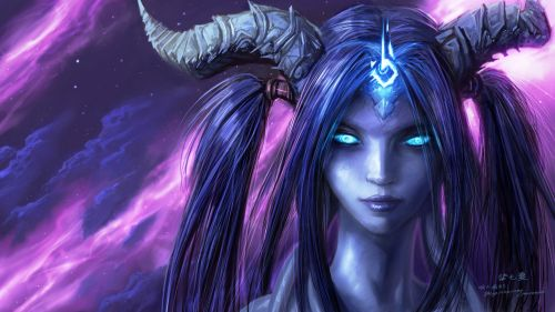 Draenei World of Warcraft HD Wallpaper