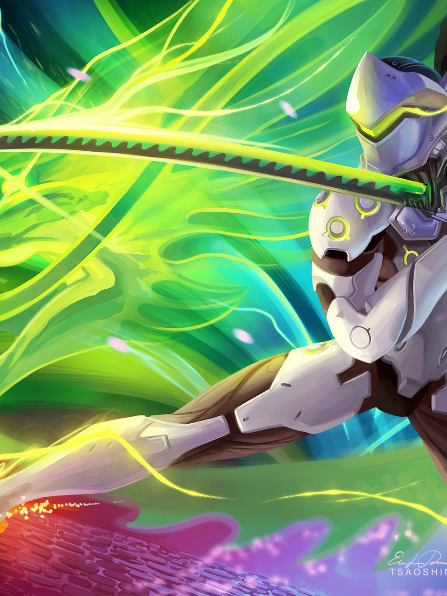 Dragon Blade Genji HD Wallpaper