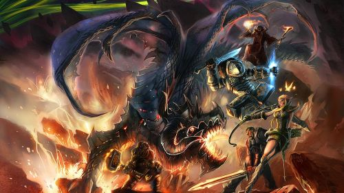 Dragons World of Warcraft HD Wallpaper