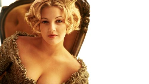 Drew Barrymore Bed Confessions HD Wallpaper