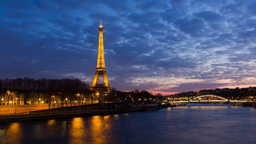 Eiffel Tower Hd Wallpaper Wallpapers Net