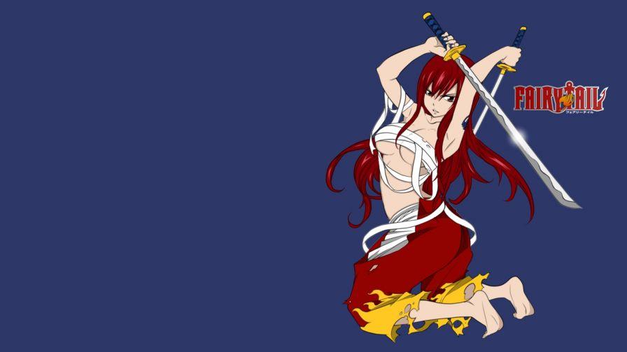 Erza Scarlet Fairy Tail Hd Wallpaper Wallpapers Net