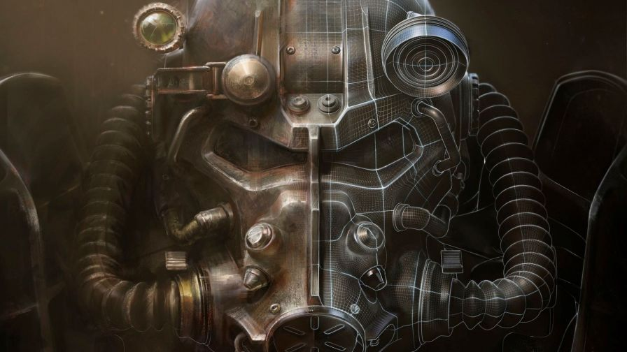 Fallout 4 Juggernaut Face Free Wallpaper for Desktop and Mobiles
