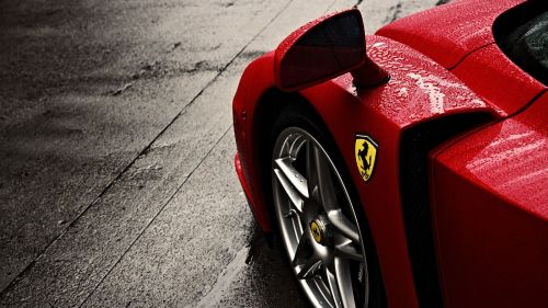 Ferrari Logo HD Wallpaper