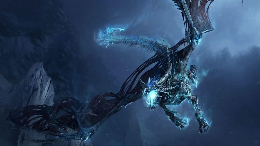 Flying Dragon Hd Wallpaper Wallpapersnet