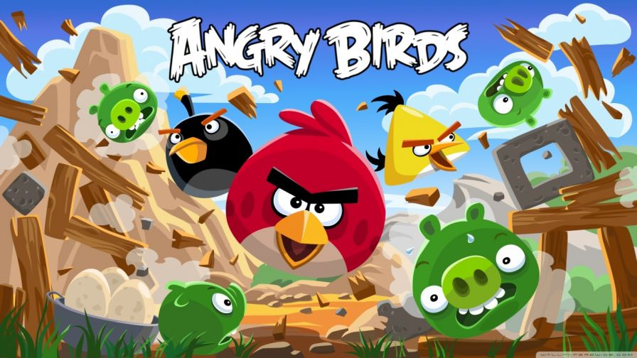 Free Download Angry Birds Hd Wallpaper for Desktop and Mobiles