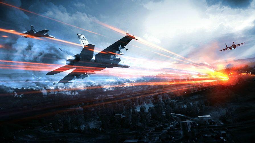 Free Download Battlefield 4 Jets Full Hd Wallpaper For