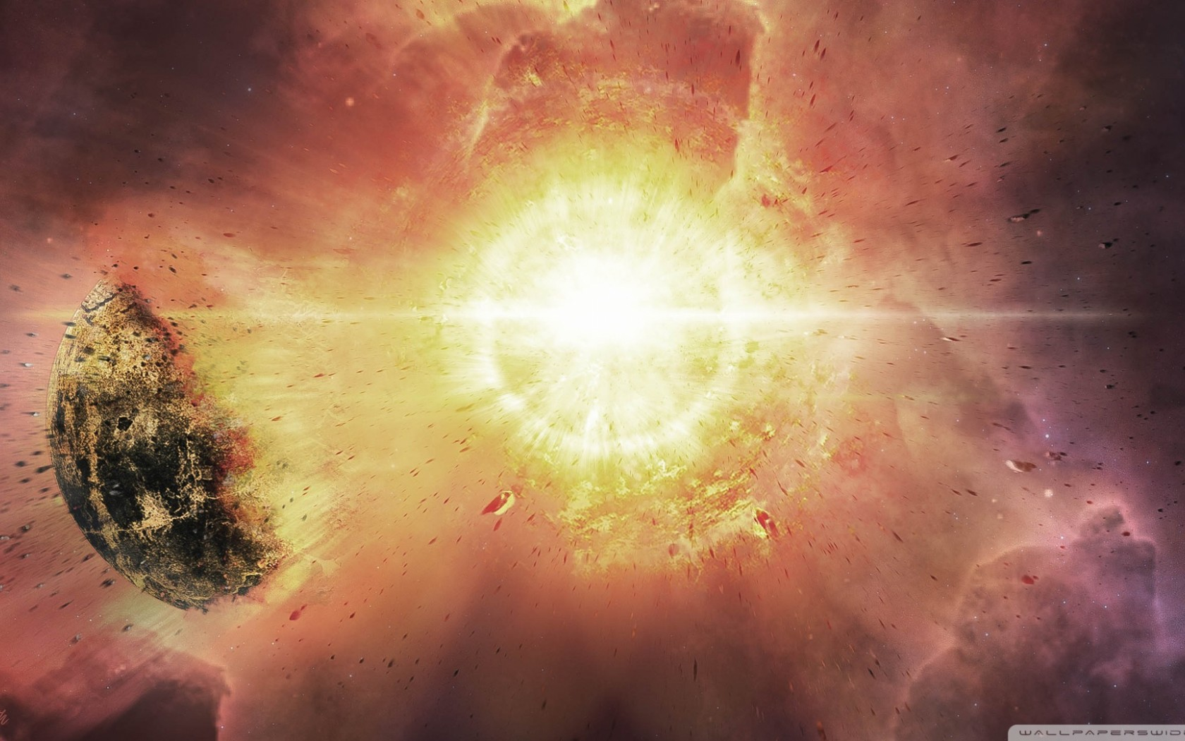 Free Download Supernova Hd Wallpaper for Desktop and Mobiles