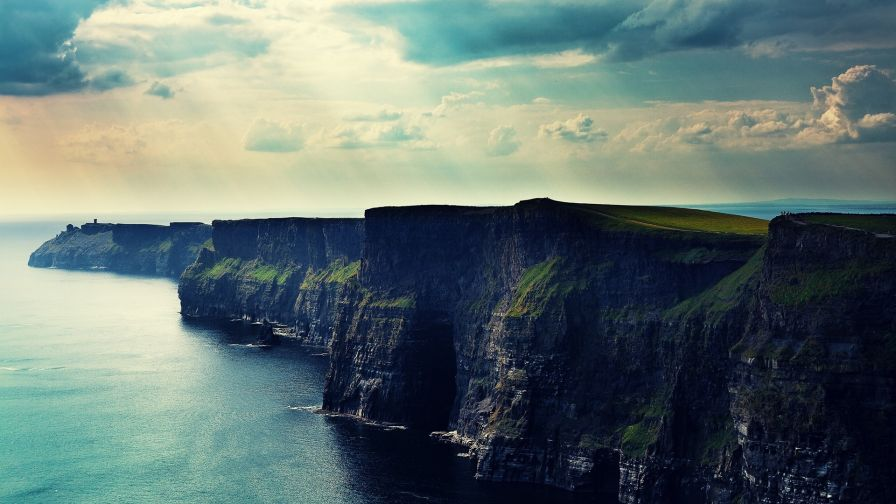 Free Ireland Cliff Mobile and Desktop HD Wallpaper