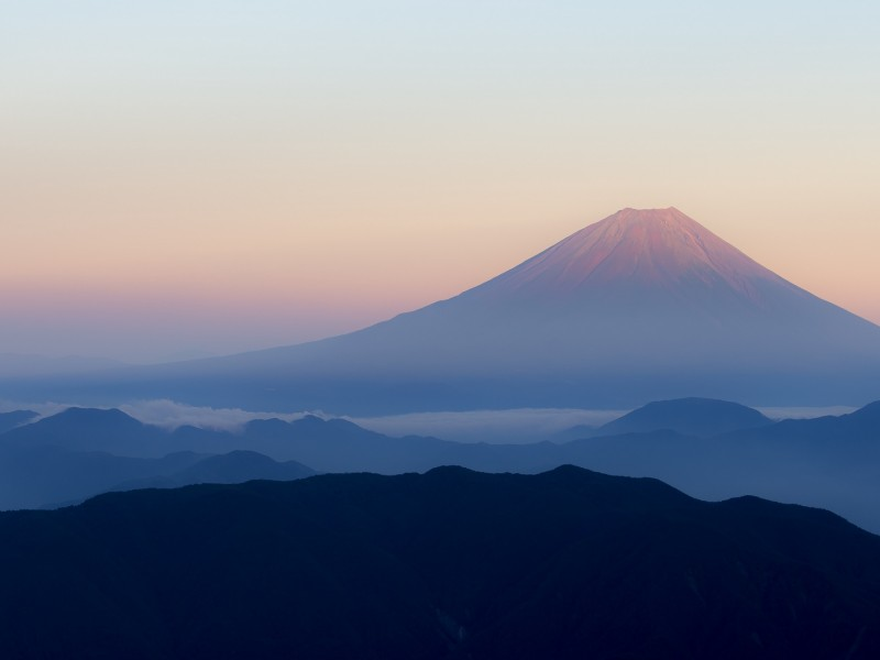 Fuji mountains HD Wallpaper