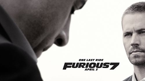 Furious 7 One last ride HD Wallpaper