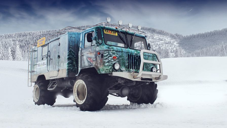 Gaz 66 off road HD Wallpaper