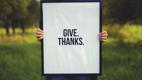Give thanks HD Wallpaper