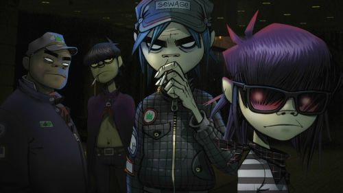 Gorillaz HD Wallpaper