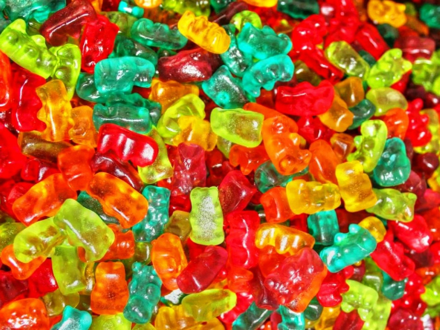 Gummy bears candies HD Wallpaper