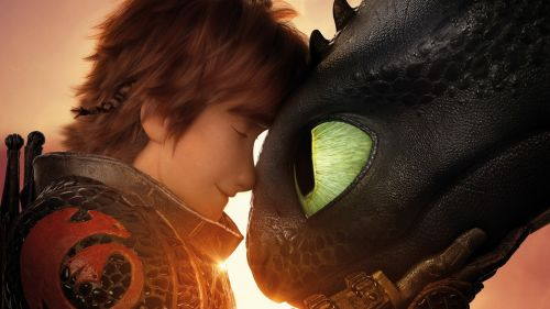 How to train your dragon Night Fury HD Wallpaper