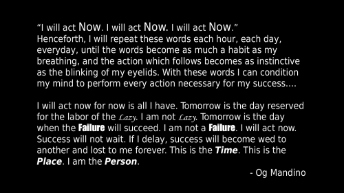 I will act now HD Wallpaper