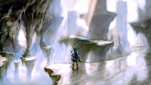 Ice Palace - The Legend of Zelda HD Wallpaper
