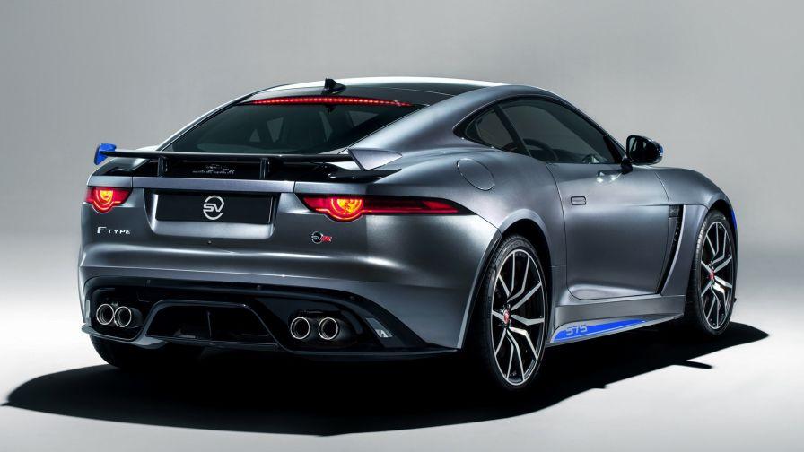 Jaguar F Type Svr Coupe Hd Wallpaper Wallpapersnet