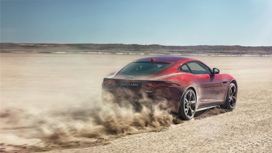 Jaguar F TYPE SVR HD Wallpaper