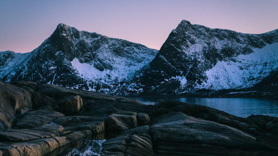 Lake Of Norway Hd Wallpaper Wallpapersnet