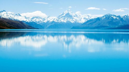 Lake Pukaki HD Wallpaper