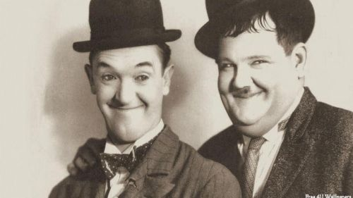 Laurel and Hardy HD Wallpaper