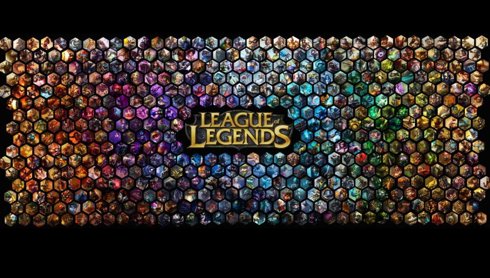 League of Legends Background Wallpaper for Desktop and Mobiles